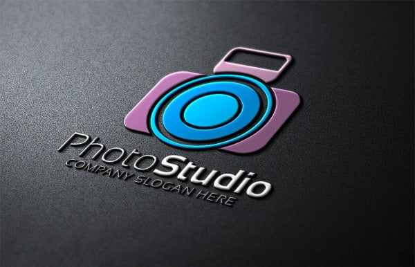 Minimalist Photo Studio Logo