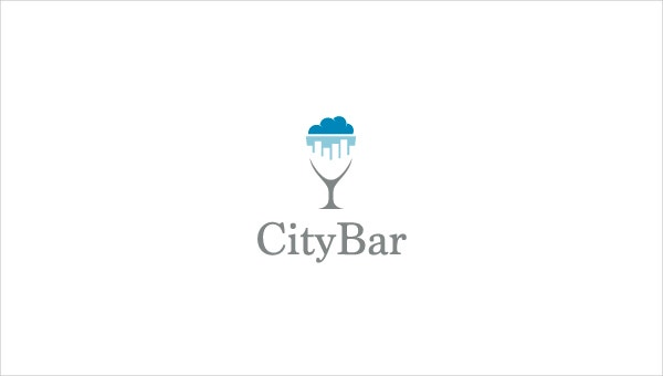 City Bar Logo Design