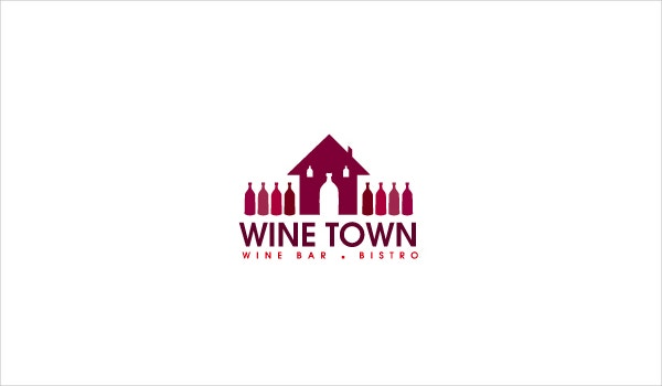 Wine Town Bar Logo