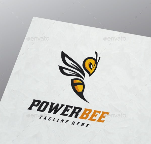 Bee Logo for Business