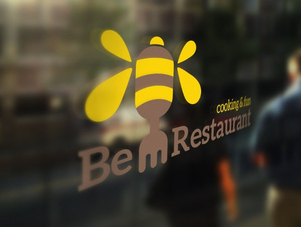 Bee Restaurant Logo