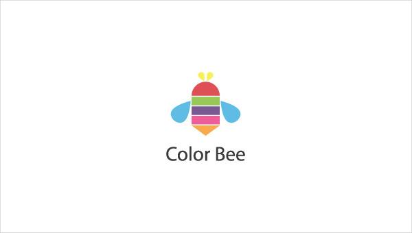 color bee logo