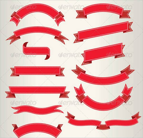 Ribbon Banner Vector