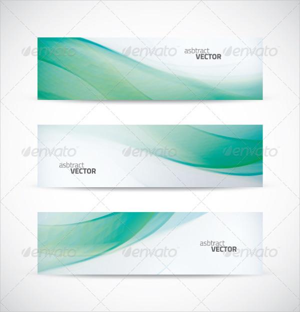 Wave Banner vector
