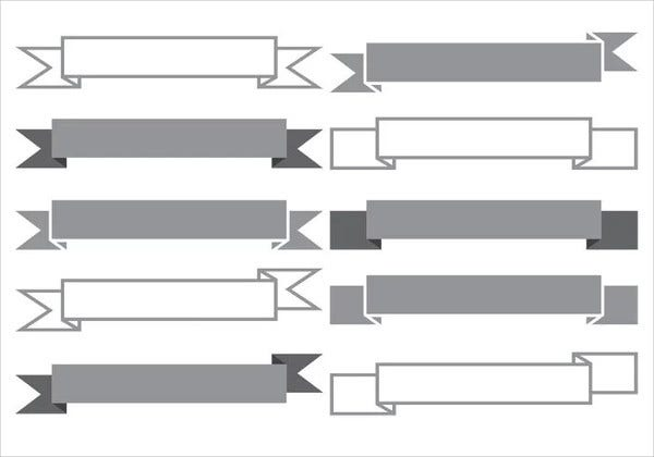 Banner Shape Vector