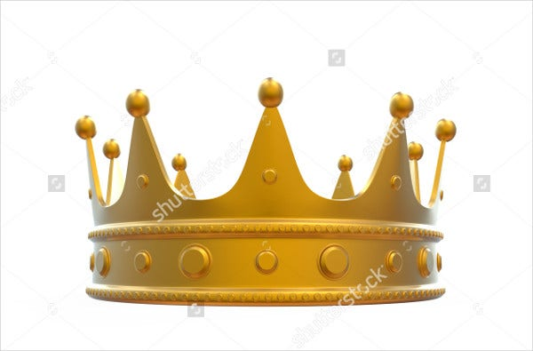 King Crown Vector