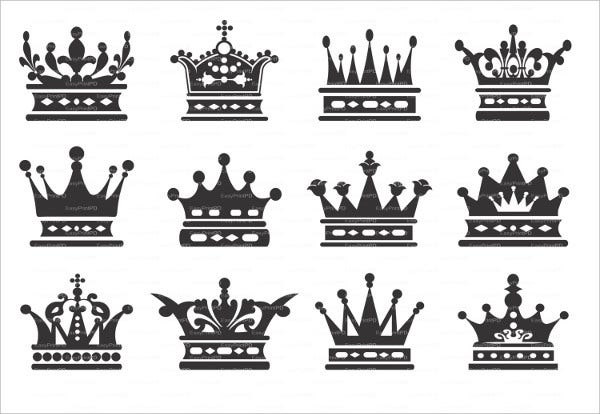 crown queen vector
