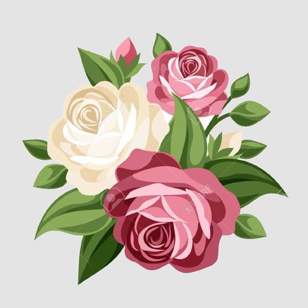 vintage-rose-vector