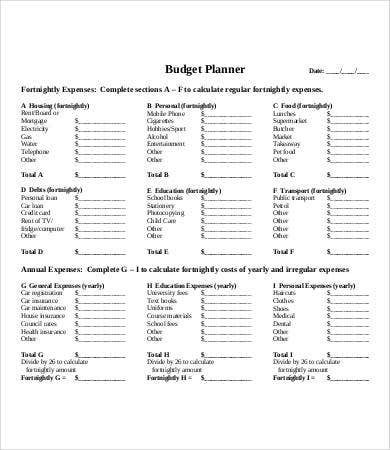 budget printables 9 free excel pdf documents download free