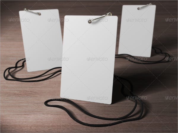 Printable Id Badge Template