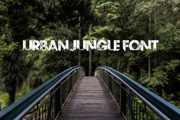 urban-jungle-font