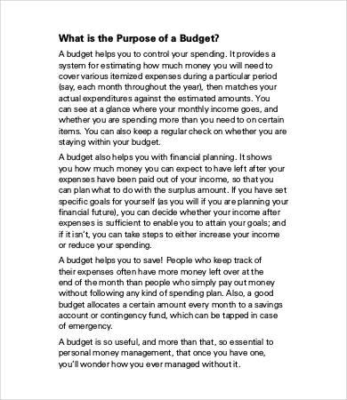 budget book printables