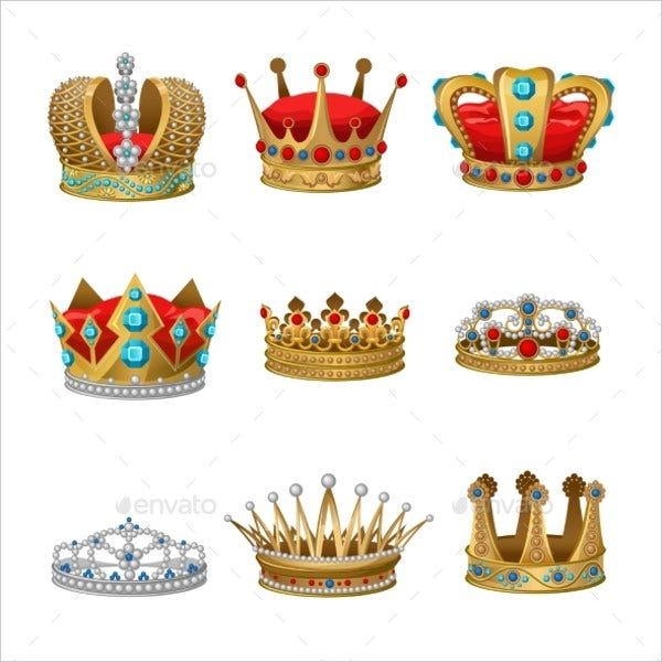 queen crown icons