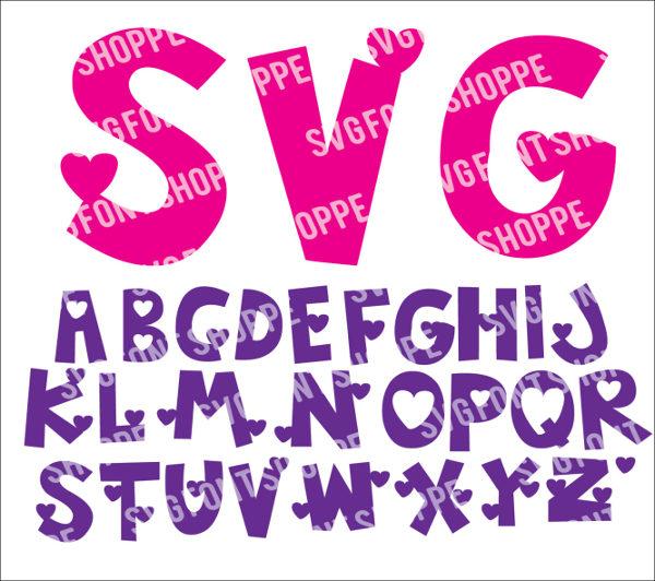 Valentine Heart Font