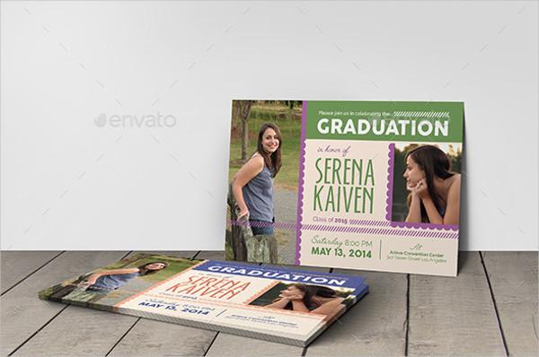 University Graduation Invitation
