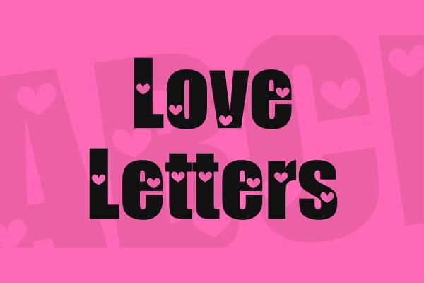 love-letter-font