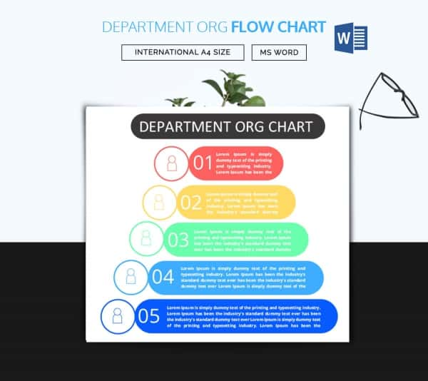 Flow Chart Template Word Format Download