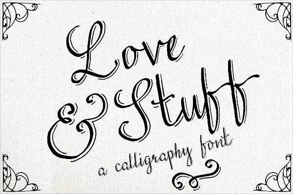 love-calligraphy-font