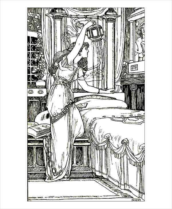 Vintage Coloring Pages For Adult