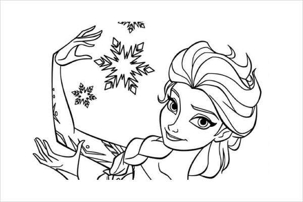 cool-frozen-coloring-page