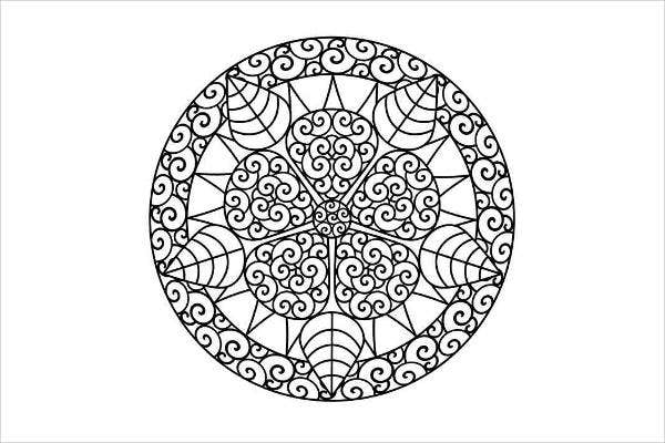 Cool Abstract Coloring Page