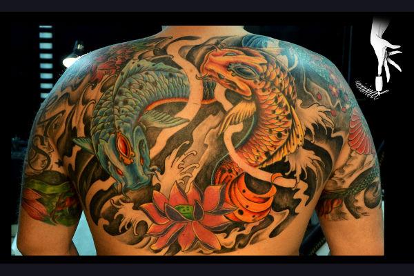 Torso Tattoo on Back