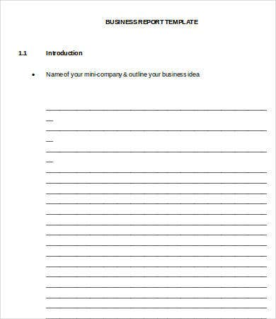 Professional Report Template Word - 24+ Free Sample, Example, Format ...