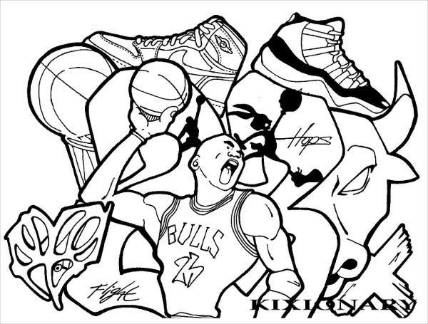 graffiti coloring pages for adult