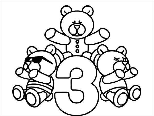 odd number coloring pages