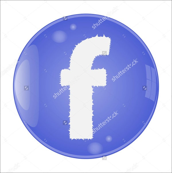 Round Facebook Icons