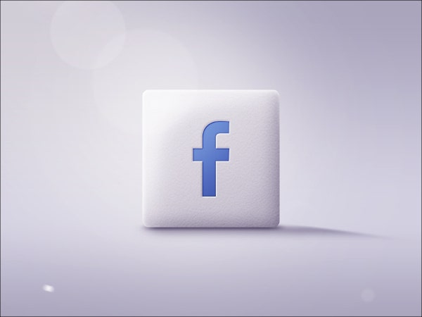 Flat Facebook Icons