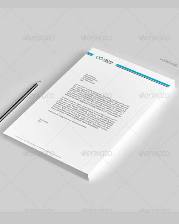 corporate letterhead template download min
