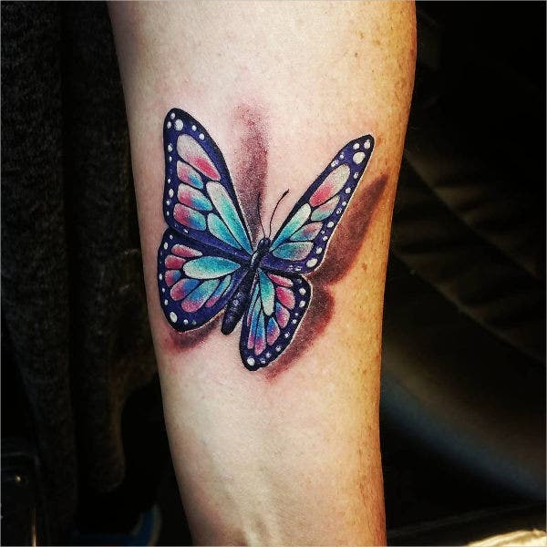 Artistic Butterfly Tattoos