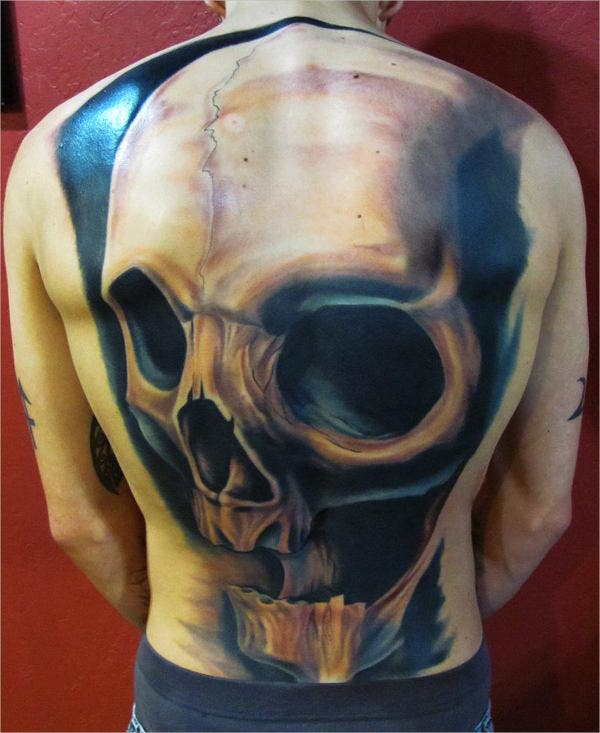 Artistic Skull Tattoos