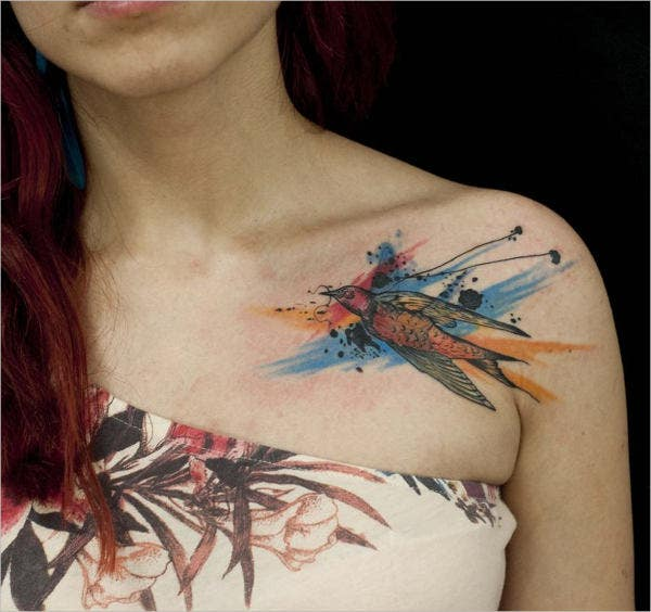 Watercolor Artistic Tattoos