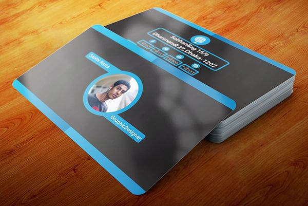 8 personal card templates free sample example format download print design personal business card wajeb Choice Image
