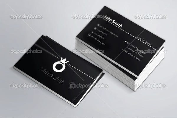 Personal Card Templates Free Sample Example Format Download - Personal business cards templates free
