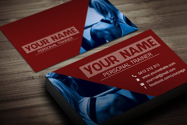 Editable Personal Card Template