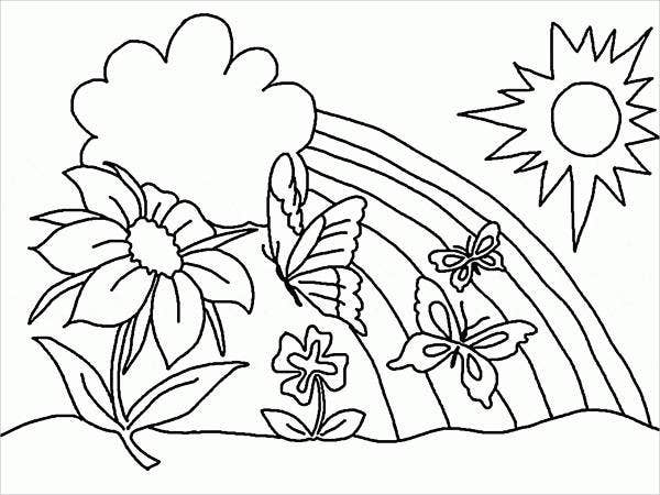 printable-spring-coloring-page