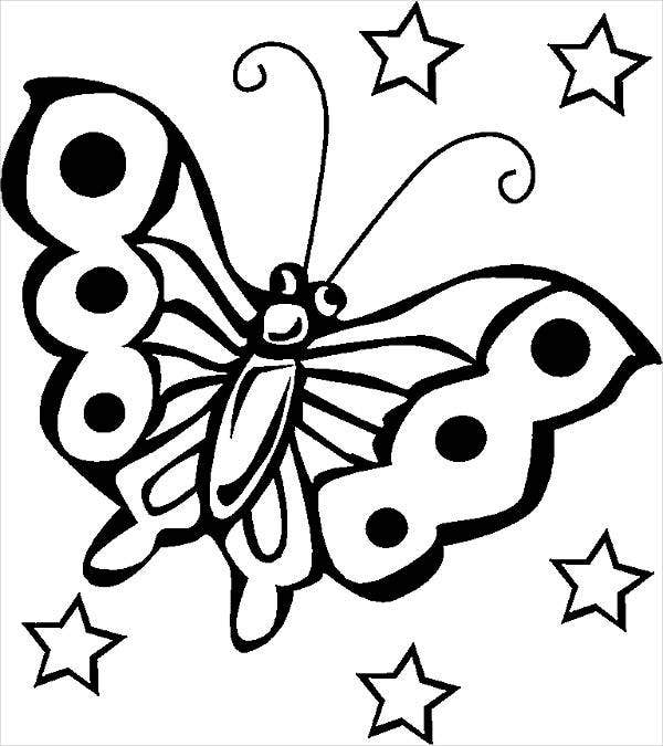 spring-butterfly-coloring-page