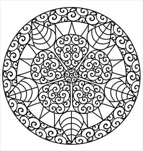 free-abstract-coloring-page