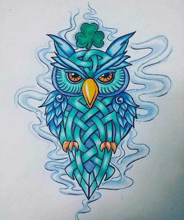 owl-tattoo-drawing