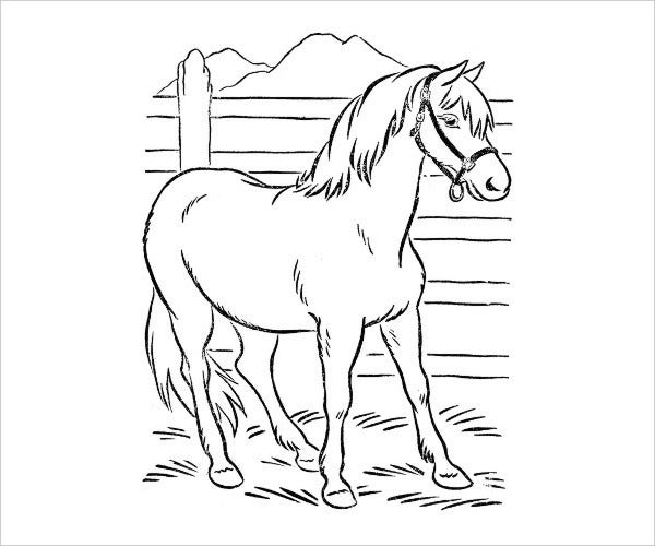 printable animal coloring page1