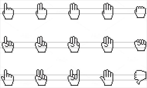 Cursor Hand Icons