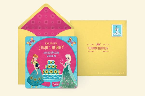 Free Disney Invitation Template