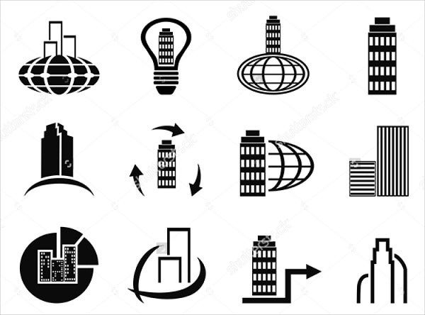Abstract Company Icons