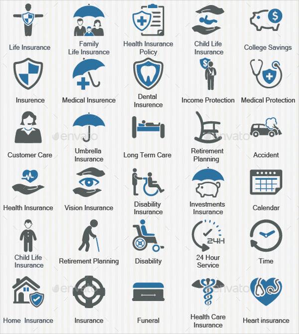 Insurance Company Icons