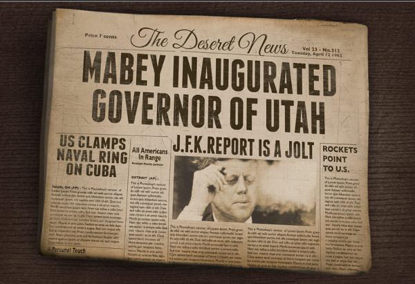 VintageNewspaper Mockup