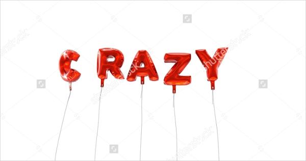 Crazy 3D Font