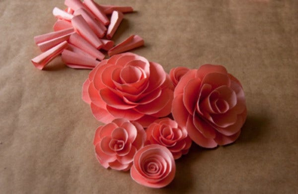 Gorgeous Paper Flower Template